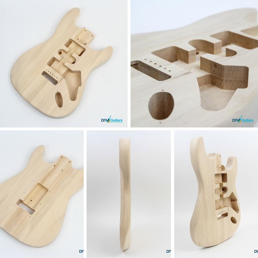 Fender Stratocaster DIY Electric Guitar Kit Body
