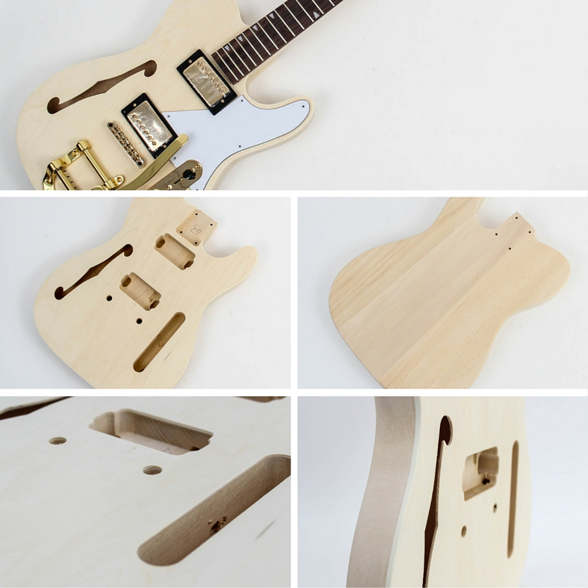 Fender Telecaster Thinline Bigsby Body
