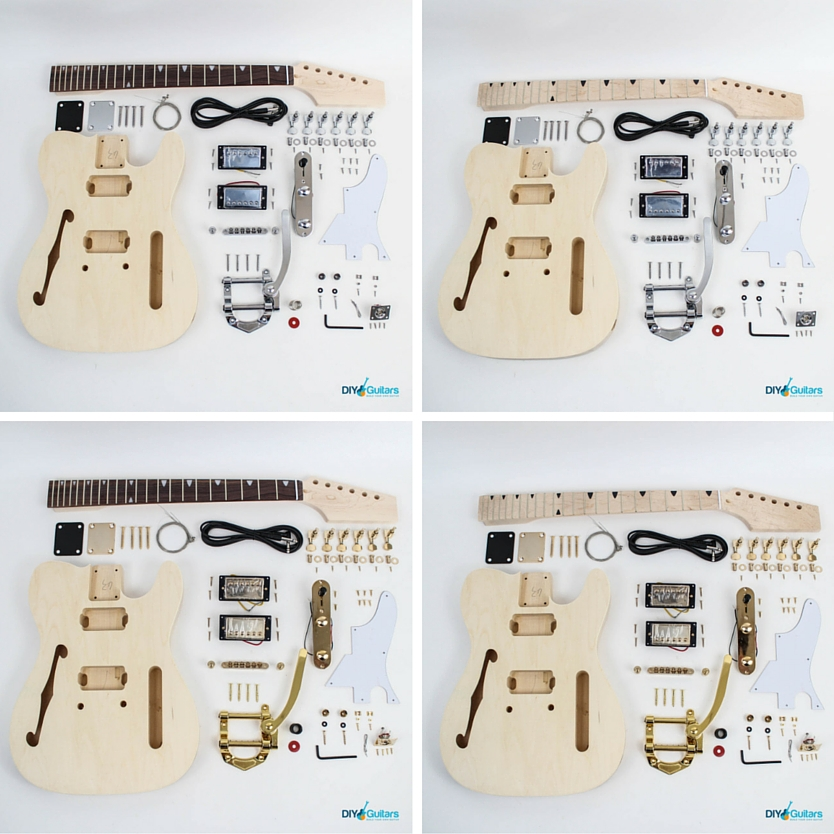 Fender Telecaster Thinline Bigsby full kit contents