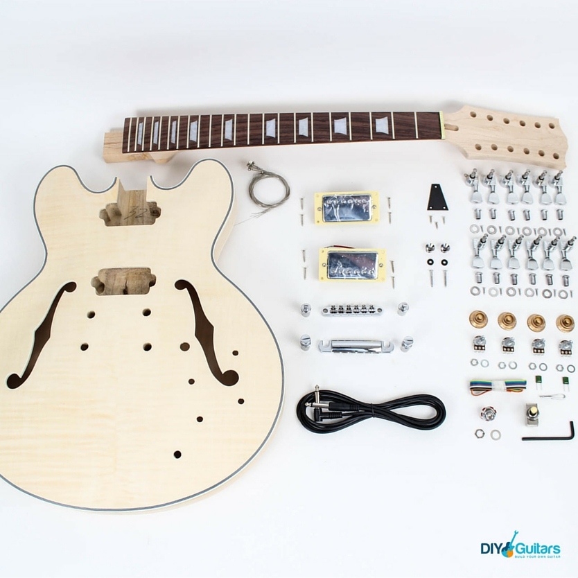 Gibson 335 DIY Guitar Kit Parts