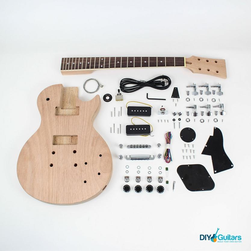 Gibson Les Paul Junior Single Cutaway guitar kit parts