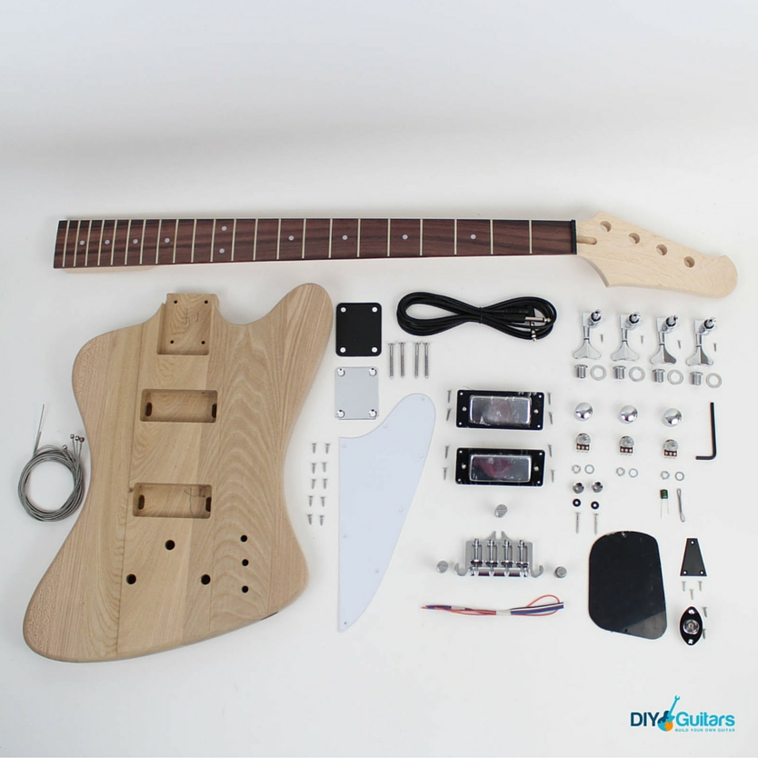 Gibson Thunderbird DIY Electric Bass Kit full kit