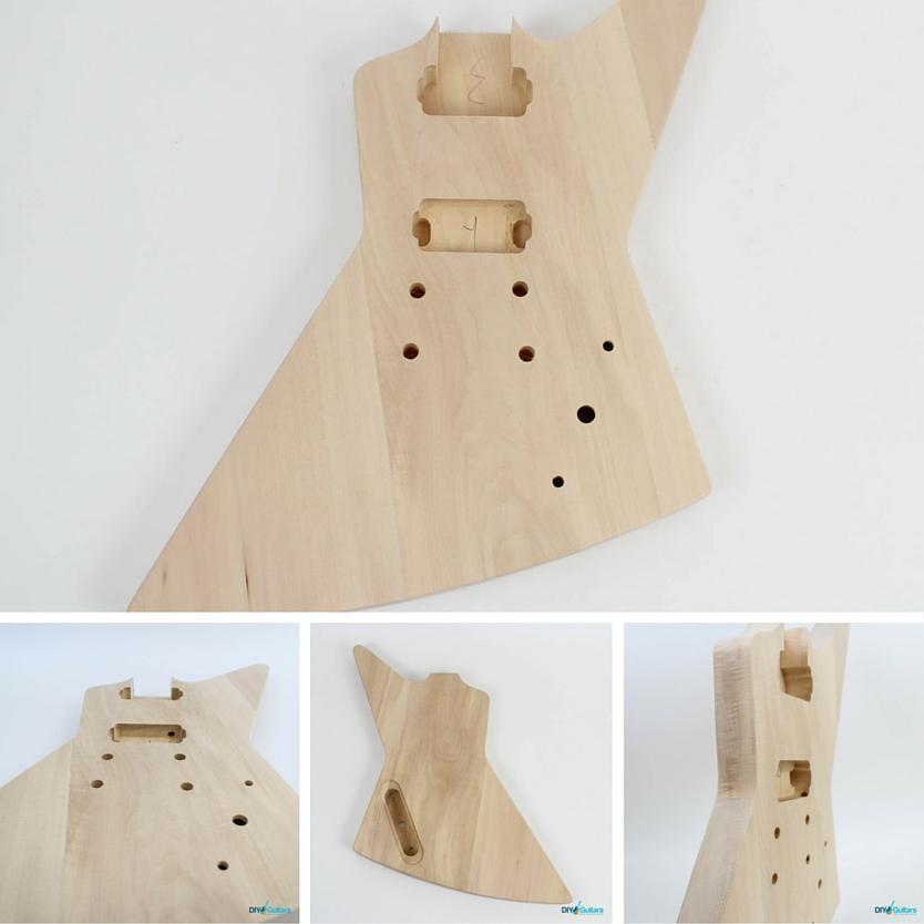 Gibson Explorer DIY Electric Guitar Kit body